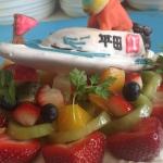 3D立体ケーキ競艇ボート